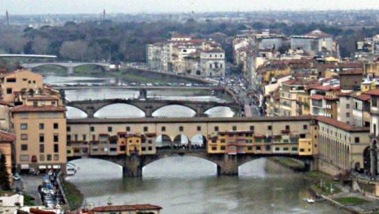 El Ponte Vecchio sobre el Arno