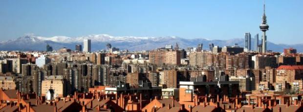 Madrid, visto desde el Cerro del Tío Pío