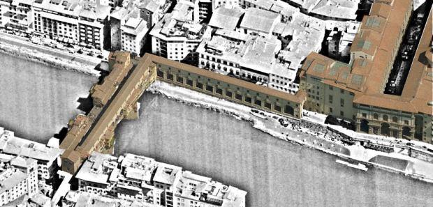 El comercio, complemento al corredor de Vasari