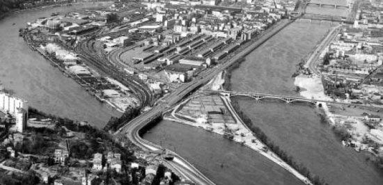 La zona en 1972