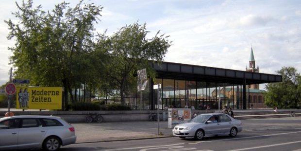 La Galería de Berlín vista desde Postdamer Strasse