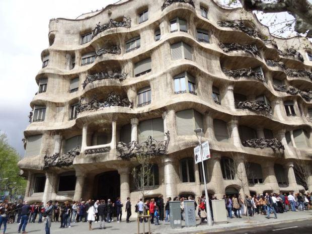 Gaudí en el Paseo de Gracia, en una manzana con un coeficiente de edificabilidad de 5,5