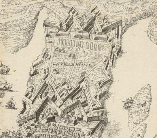 Lo que se iba a convertir en la nueva ciudad, la actual Floriana