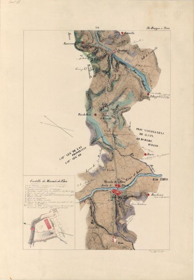 ItinerariodeMadridaIrun 1849