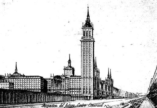 Los orígenes de Azca: la visión de un centro comercial y de oficinas en el Plan Bidagor
