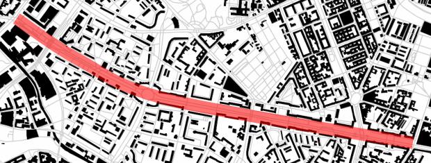 Karl- Marx Allée: 3,4 km de vía triunfal en la salida hacia Polonia