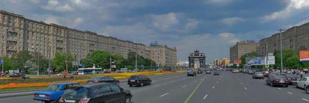 Vía central de Kutuzovskaiya