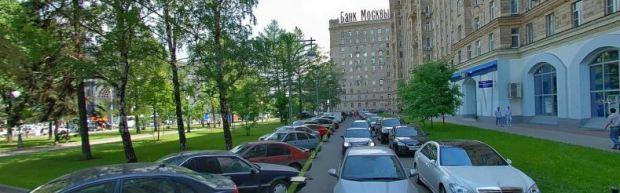 Vía lateral de Kutuzovskaiya
