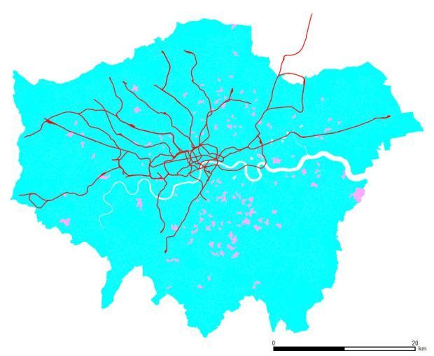 Directores y altos cargos. Las zonas azules cuentan con más hombres, las rosas con más mujeres