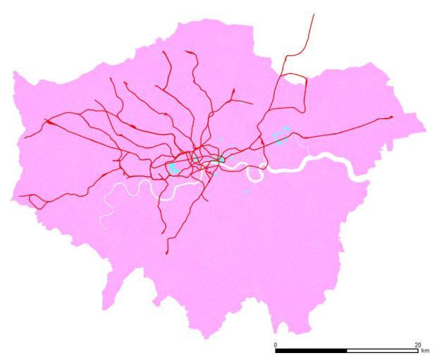 Secretariado. Azul mayoría masculina, rosa mayoría femenina