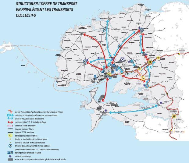 El transporte es otra de las prioridades del SCOT de Brest
