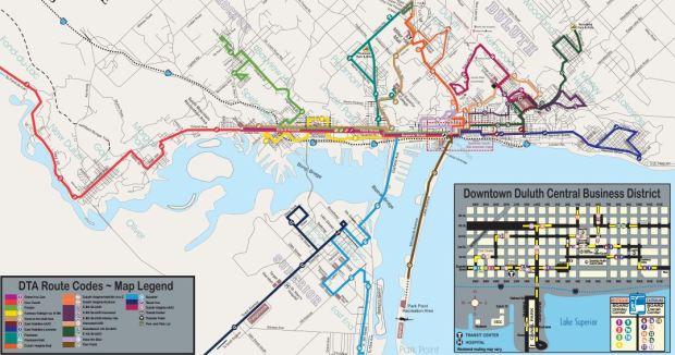 DTA Routes