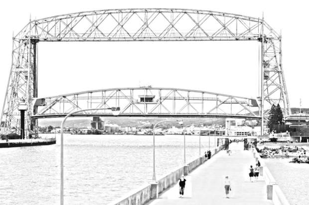 El Aerial Lift Bridge de Duluth