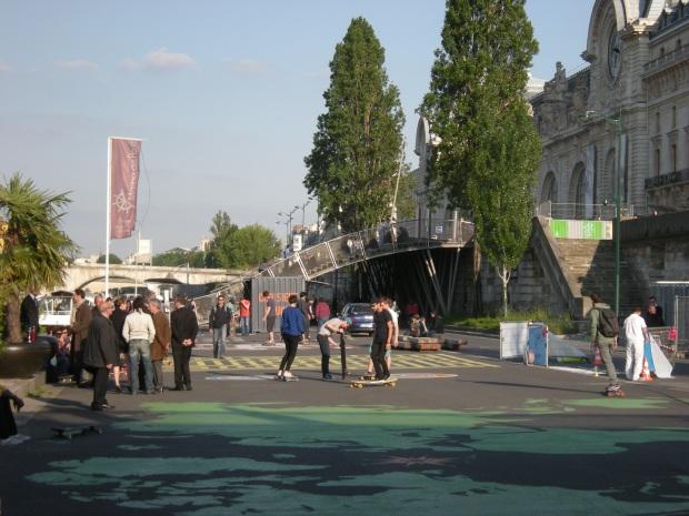 Junto al Museo de Orsay