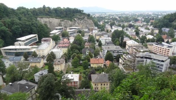 Vista hacia el Oeste desde Mönschberg