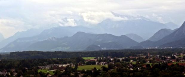 Vista hacia el Sur desde Mönschberg