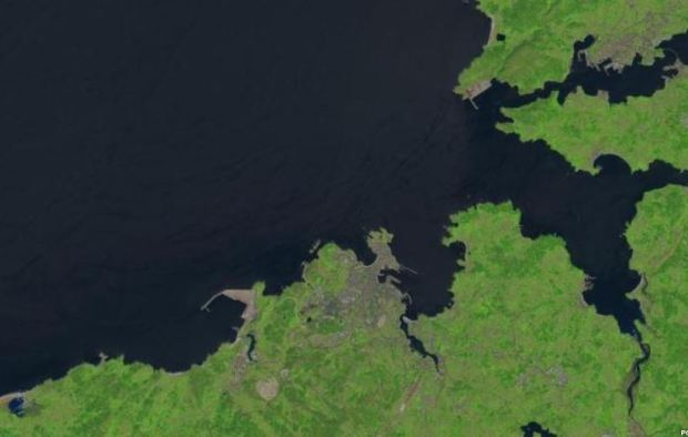 Un lugar que conozco bien, visto desde Landsat